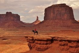 - Lonely Rider, Monument Valley