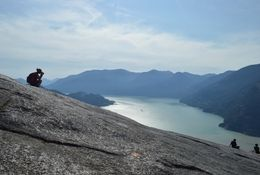 Capture The Moment. Stawamus Chief Mountain. Canada.