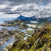 Tamroni Reisifoto 2015 - Norway. Svolvaer, view from the mountain Fløya.