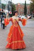 andrebor - Theatre Fair 2019 - Dress - Orange