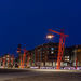 maximus - Long Exposure photo - A new residential area at Port Noblessner at Night Tallinn, Estonia