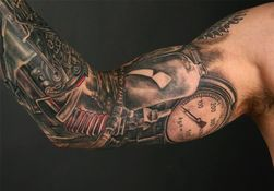 ranet38 - samanii - stephane_chaudesaigues_steampunk_tattoo