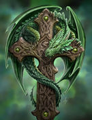 ranet38 - samanii - the-green-dragon-cross